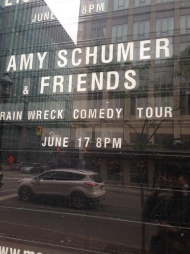 Massey Hall - Toronto. #Rainwreck Tour :)