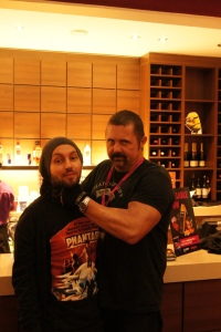Malpass and Kane Hodder - that's right, Jason Voohrees himself.